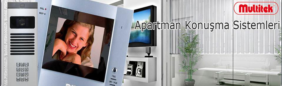 Multitek akıllı bina ve  Apartman Konuşma sistemleri