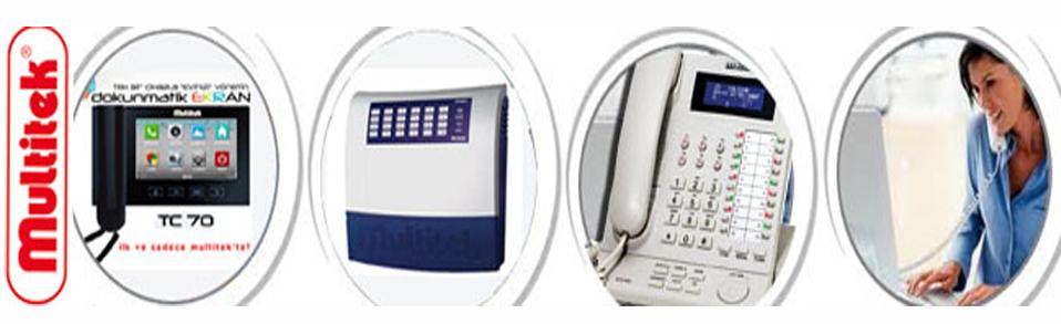 Multitek Telefon Santralleri ve iletişim sistemleri